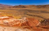 Цветные горы Кызыл-Чина или Марсианские пейзажи