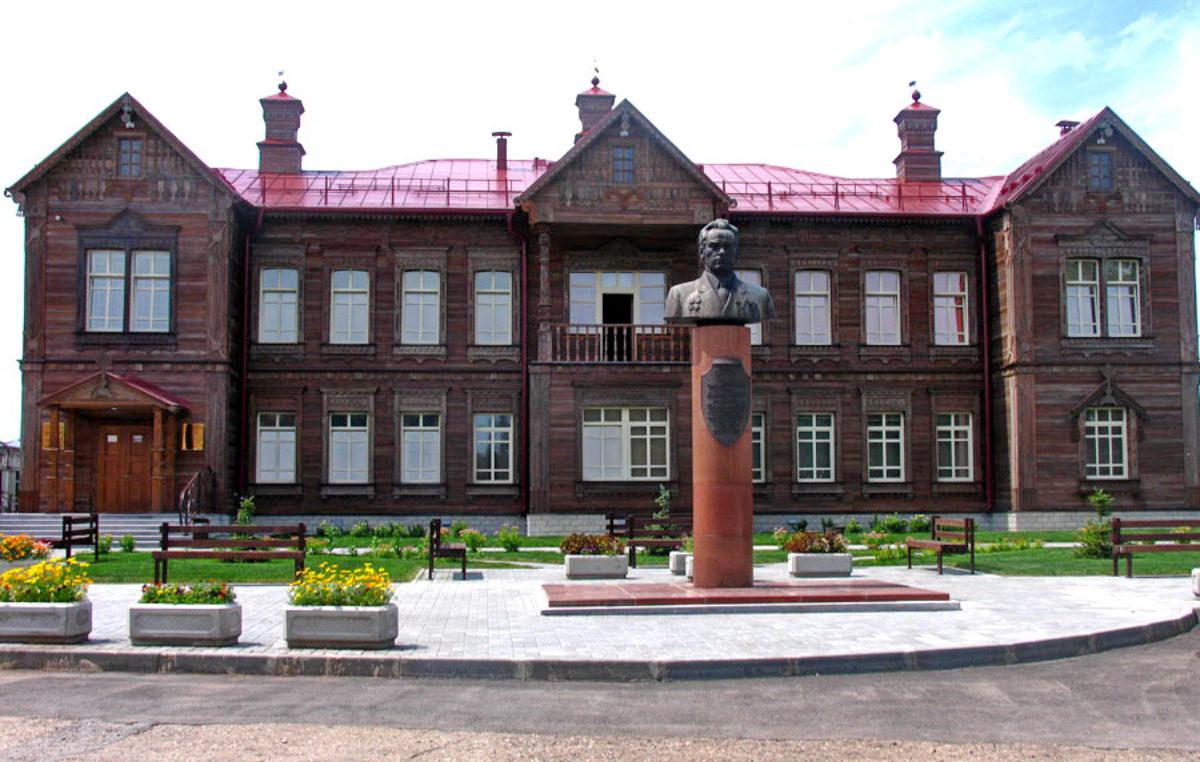 Музей Калашникова в селе Курья