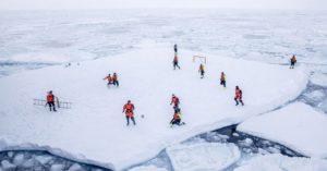 Самые удивительные футбольные поля